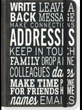 Keep in Touch Address Book