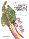 Watercolour Fruit & Vegetable Portraits