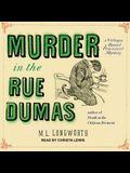 Murder in the Rue Dumas Lib/E