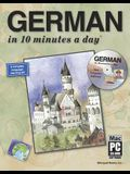 German in 10 Minutes a Daya [With CDROM]