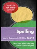 Year 2 Spelling Teacher Resources: English Ks1 [With CDROM]