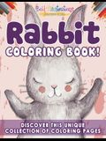 Rabbit Coloring Book! Discover This Unique Collection Of Coloring Pages