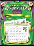 Beginning Manuscript Handwriting, Grade K (Homework Helper)