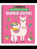 Brain Games - Sticker by Letter: Super Cute!