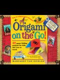 Origami on the Go: 40 Paper-Folding Projects for Kids Who Love to Travel [With Sticker(s) and Origami Paper Included in Book]