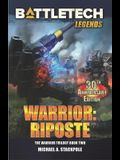BattleTech Legends: Warrior: Riposte: The Warrior Trilogy, Book Two