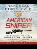 American Sniper CD: The Autobiography of the Most Lethal Sniper in U.S. Military History
