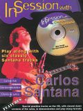 In Session with Carlos Santana: Guitar Tab, Book & CD