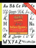 Hand Lettering A to Z Workbook: Essential Instruction and 80+ Worksheets for Modern and Classic Styles-Easy Tear-Out Practice Sheets for Alphabets, Qu