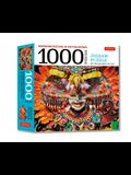 Masskara Festival, Philippines - 1000 Piece Jigsaw Puzzle: (Finished Size 24 in X 18 In)