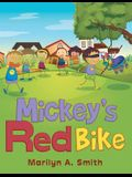 Mickey's Red Bike