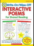 20 Write-On/Wipe-Off Interactive Poems for Shared Reading: Fun Poems on the Topics You Teach to Fill in and Read with Young Learners