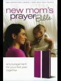 NIV, New Mom's Prayer Bible, Imitation Leather, Pink/Purple: Encouragement for Your First Year Together