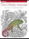 The O'Reilly Animals: An Adult Coloring Book