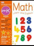 DK Workbooks: Math, Pre-K: Learn and Explore