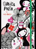 Garden Party: (nature Themed Whimsical Book for Girls and Women, Beautiful Illustration and Quote Book)