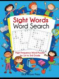 Sight Words Word Search: High-Frequency Word Puzzles for First Through Third Grade