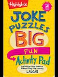 Joke Puzzles Big Fun Activity Pad