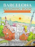 Barcelona Coloring Book: Color Barcelona's Beautiful Attractions