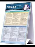 English Grammar & Writing Easel Book: A Quickstudy Reference Tool for Punctuation, Mechanics, Composition, Style, & More