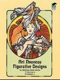 Art Nouveau Figurative Designs (Dover Pictorial Archive)
