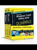 Windows 7 & Office 2010 For Dummies, Book + DVD Bundle