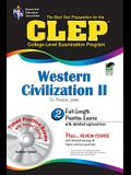 CLEP Western Civilization II [With CDROM]