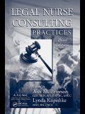 Legal Nurse Consulting Practices