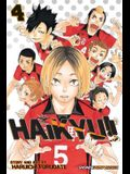 Haikyu!!, Vol. 4, Volume 4: Rivals!