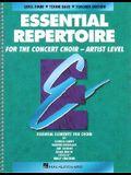Concert Choir Mixed Student Essential Repertoire Artist Level: Tenor Bass