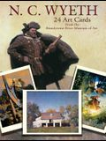 N. C. Wyeth 24 Art Cards: From the Brandywine River Museum of Art
