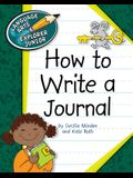 How to Write a Journal