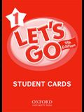 Let's Go 1 Student Cards: Language Level: Beginning to High Intermediate. Interest Level: Grades K-6. Approx. Reading Level: K-4