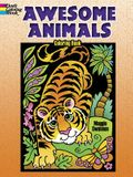 Awesome Animals Coloring Book