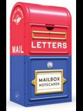 Mailbox Notecards: 20 Notecards Featuring Stamps from the Smithsonian's National Postal Museum (Hipster Gift, Grandchild Gift, Godchild G