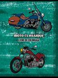 Moto Classique Livre de Coloriage: Volume 2