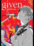 Given, Vol. 5, Volume 5