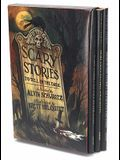 Scary Stories Box Set: Complete Collection with Brett Helquist Art