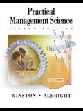Practical Management Science: Spreadsheet Modeling and Applications [With CDROM]