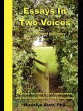 Essays in Two Voices