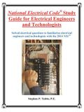 National Electrical Code Study Guide for Electrical Engineers and Technologists