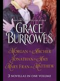 Morgan and Archer / Jonathan and Amy / Mary Fran and Matthew