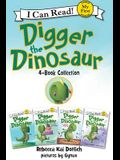 Digger the Dinosaur I Can Read 4-Book Collection: My First I Can Read