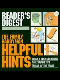 The Family Handyman: Helpful Hints