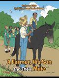 A Farmer, His Son and Their Mule