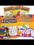 180 Days of Third Grade Practice, 5-Book Set