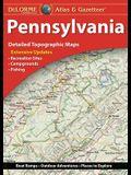 Delorme Atlas & Gazetteer: Pennsylvania