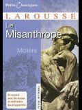 Le Misanthrope: Ou L'Atrabilaire Amoureux (Petits Classiques Larousse) (French Edition)