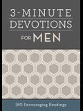 3-Minute Devotions for Men