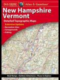 Delorme New Hampshire/Vermont Atlas & Gazetteer